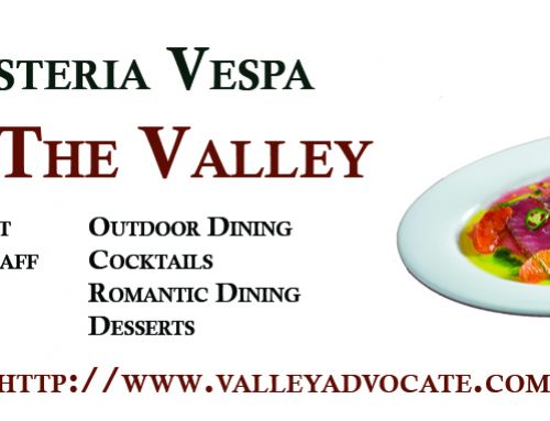 Vote Osteria Vespa, Best of The Valley 2017!